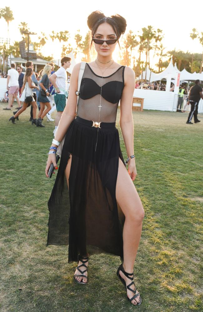 Space buns are back. Picture: Presley Ann/Getty Images for Coachella