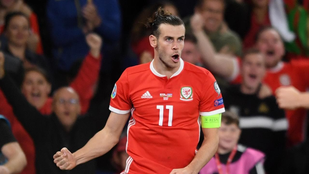 Gareth Bale's fantastic early season form continued for Wales.