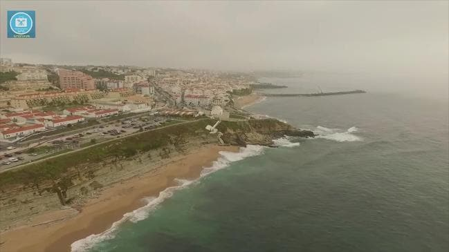 RAW: Drone footage of Ericeira, Portugal