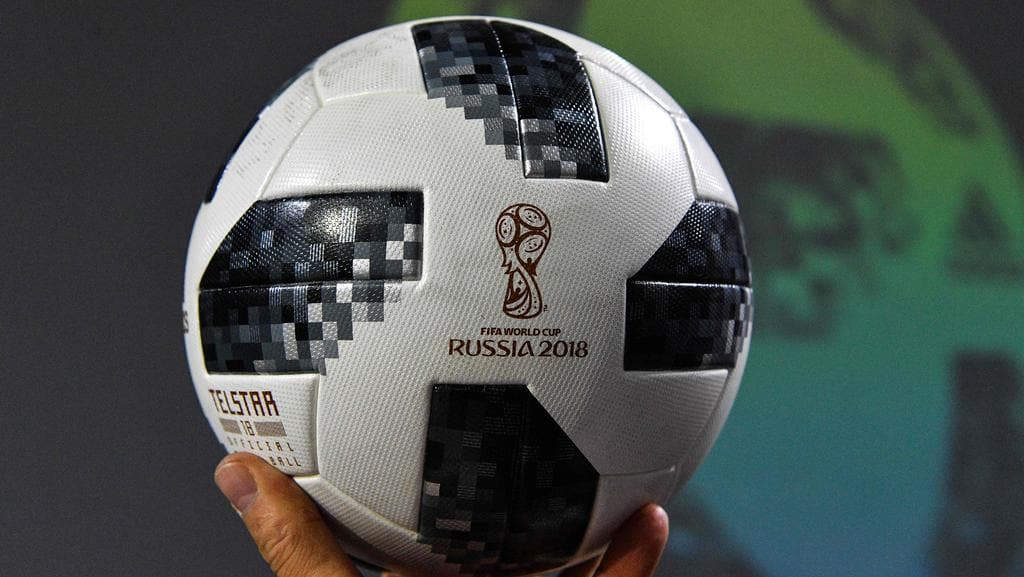 The official match ball for the 2018 World Cup a42c4b847