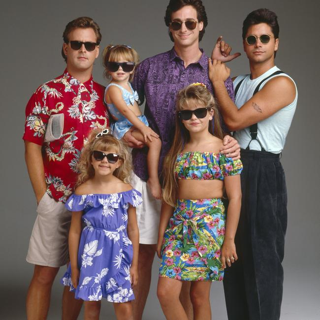 Full House cast in 1989. Picture: ABC via Getty Images