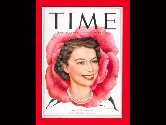 Time Person of the Year: Queen Elizabeth II, 1952. Photo: TIME