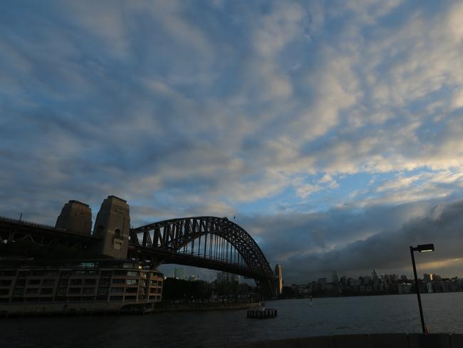 Sydney has had some chilly-ish mornings this week, and people on social media are STUNNED. Picture: John Grainger