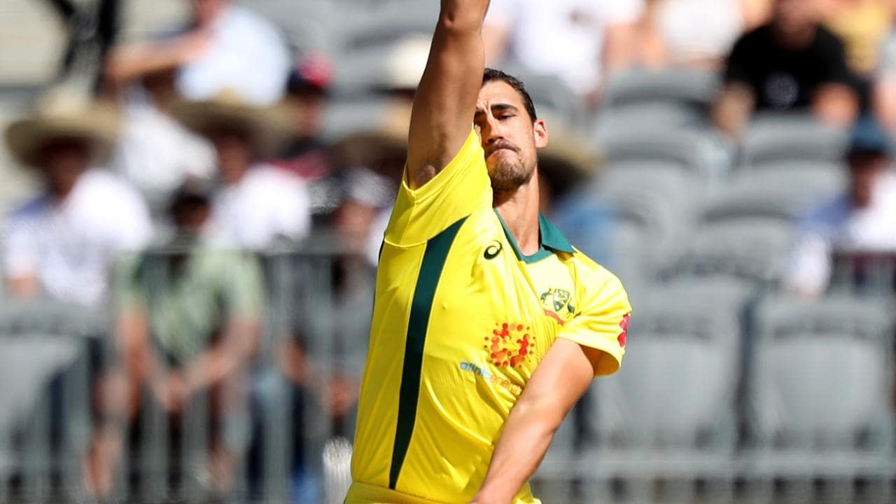 Not since July 2015 has Mitchell Starc not opened the bowling in a one-day international he has played in for Australia.