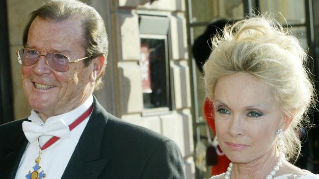 Sir Roger's estate is still caught up in the courts. Picture: AP Picture/Heribert/Proepper