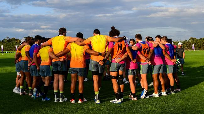 The Wallabies prepare for the Rugby World Cup in Japan. Picture: Rugby Australia/Stuart Walsmley