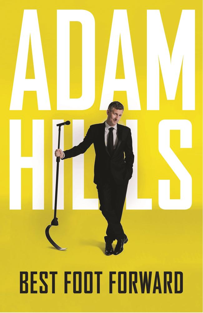 Adam Hills's new book is available now.