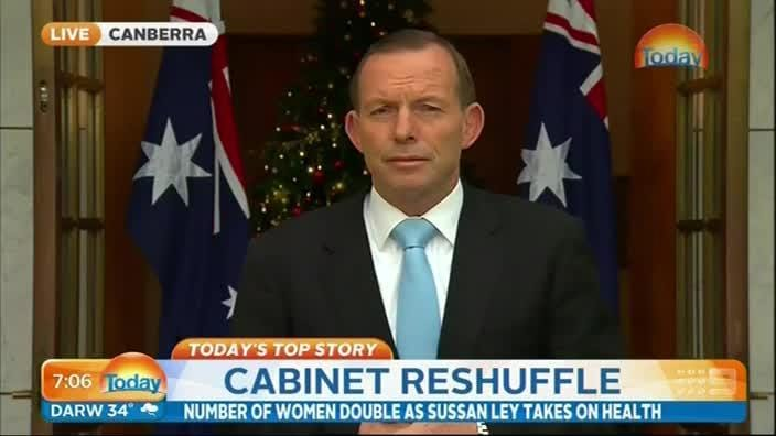 Abbott says his greatest achievement for women is repealing the Carbon Tax
