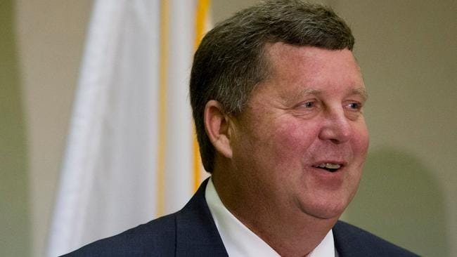 US sheriff Todd Entrekin says he took the funds legally. Picture: AP