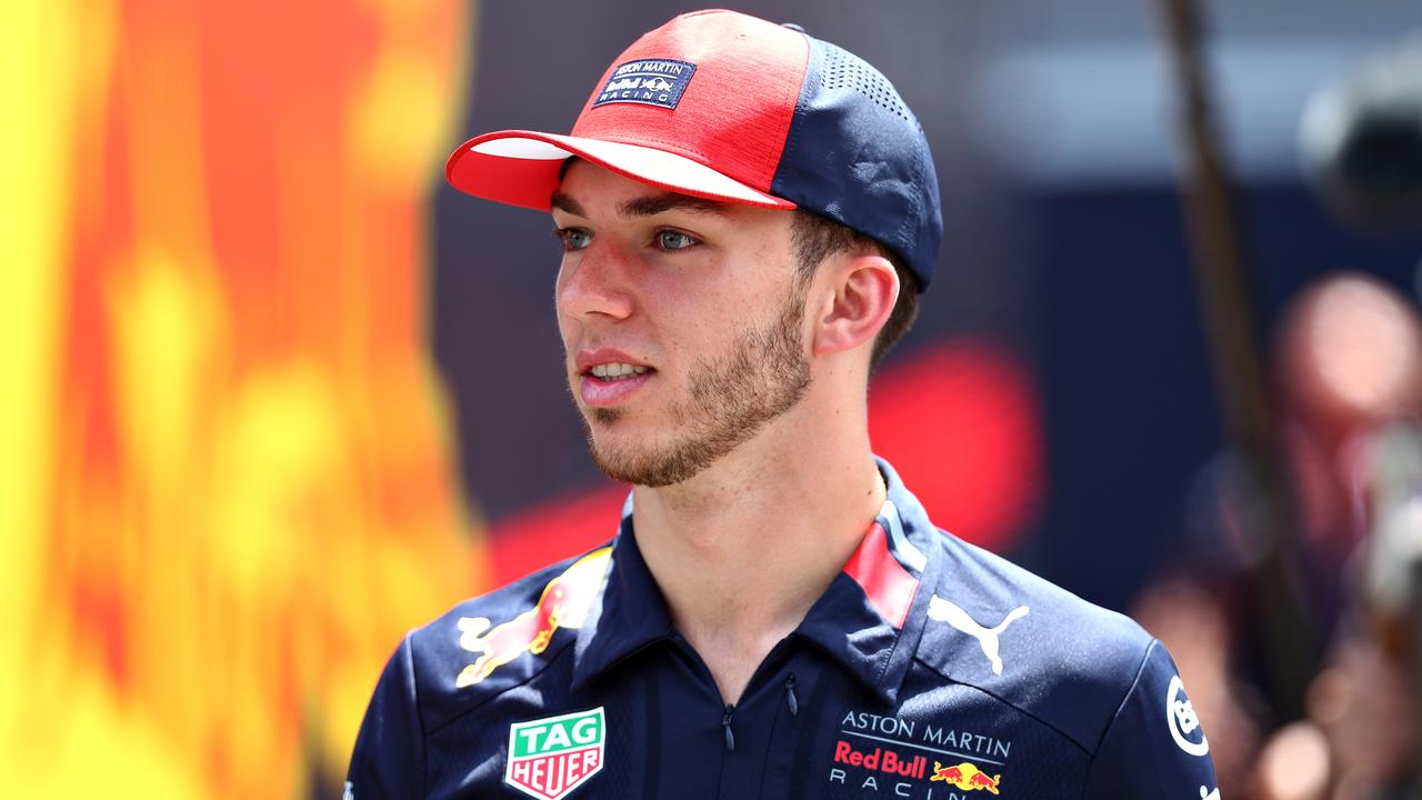 Pierre punted: Gasly lasted just 12 races with the senior team.