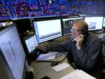 In this Thursday, Aug. 7, 2017 photo, Shift Supervisor Gary Anderson, monitors the power system flow and conditions at the Pacific Gas Electric grid control center, in Vacaville, California. Picture: AP Photo/Rich Pedroncelli