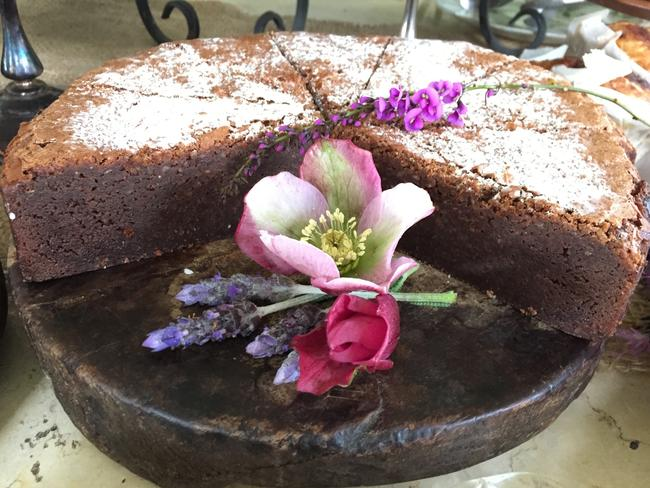 One of the cakes from The Loch's Sunday Farm stall. Picture: Jenifer Jagielski