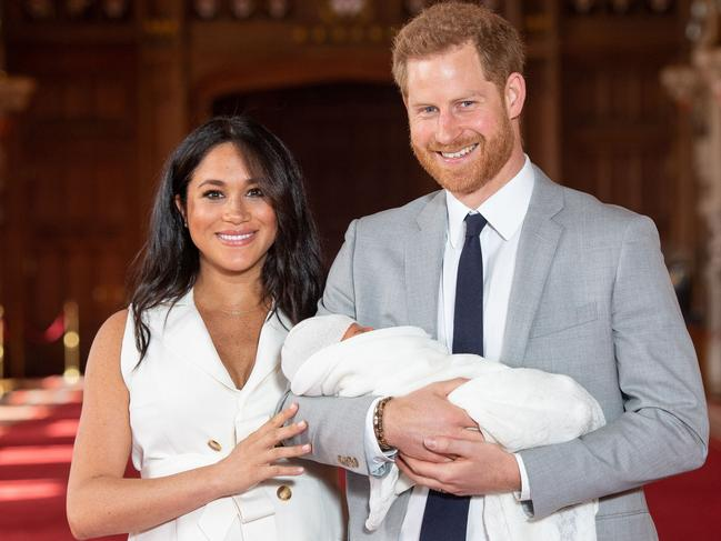 The birth of the couple's son Archie appears to be the moment things irreversibly broke for them. Picture: Dominic Lipinski / POOL / AFP