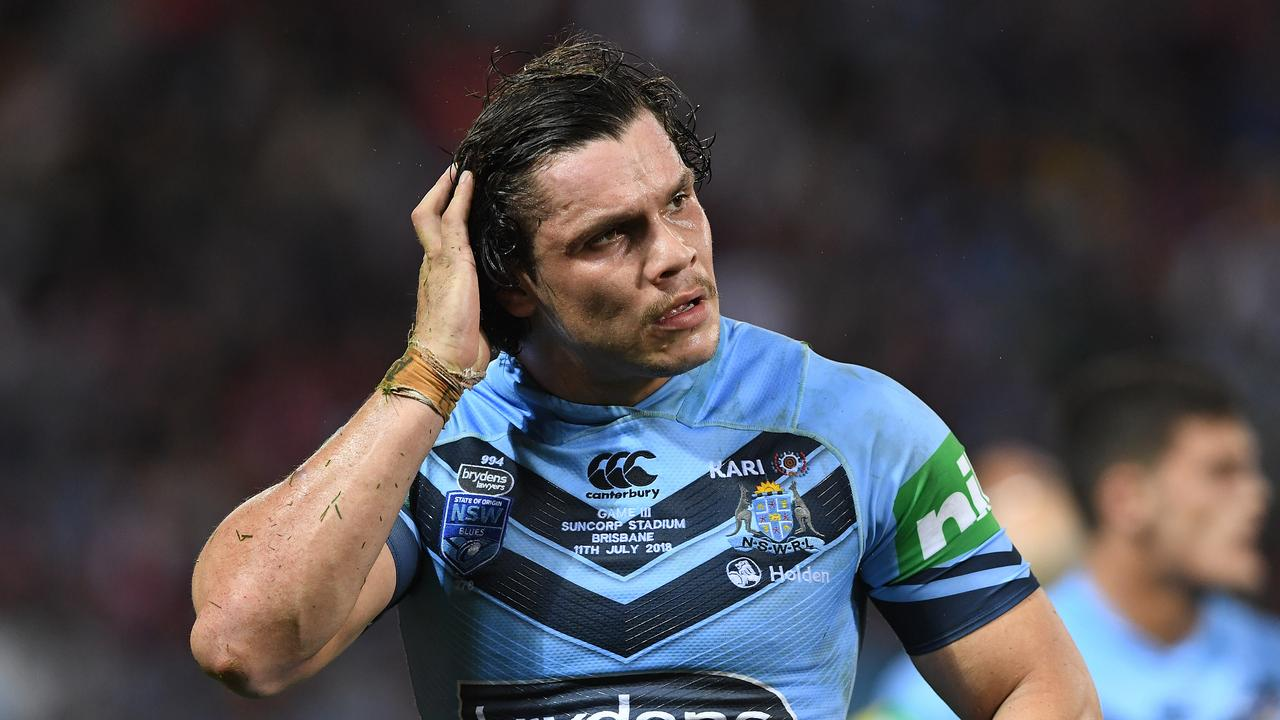 James Roberts might have to fight to retain his Blues jersey from reserve grade.