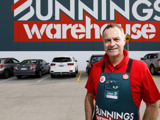 Mike Schneider, managing Director of Bunnings. Picture: Peter Mathew