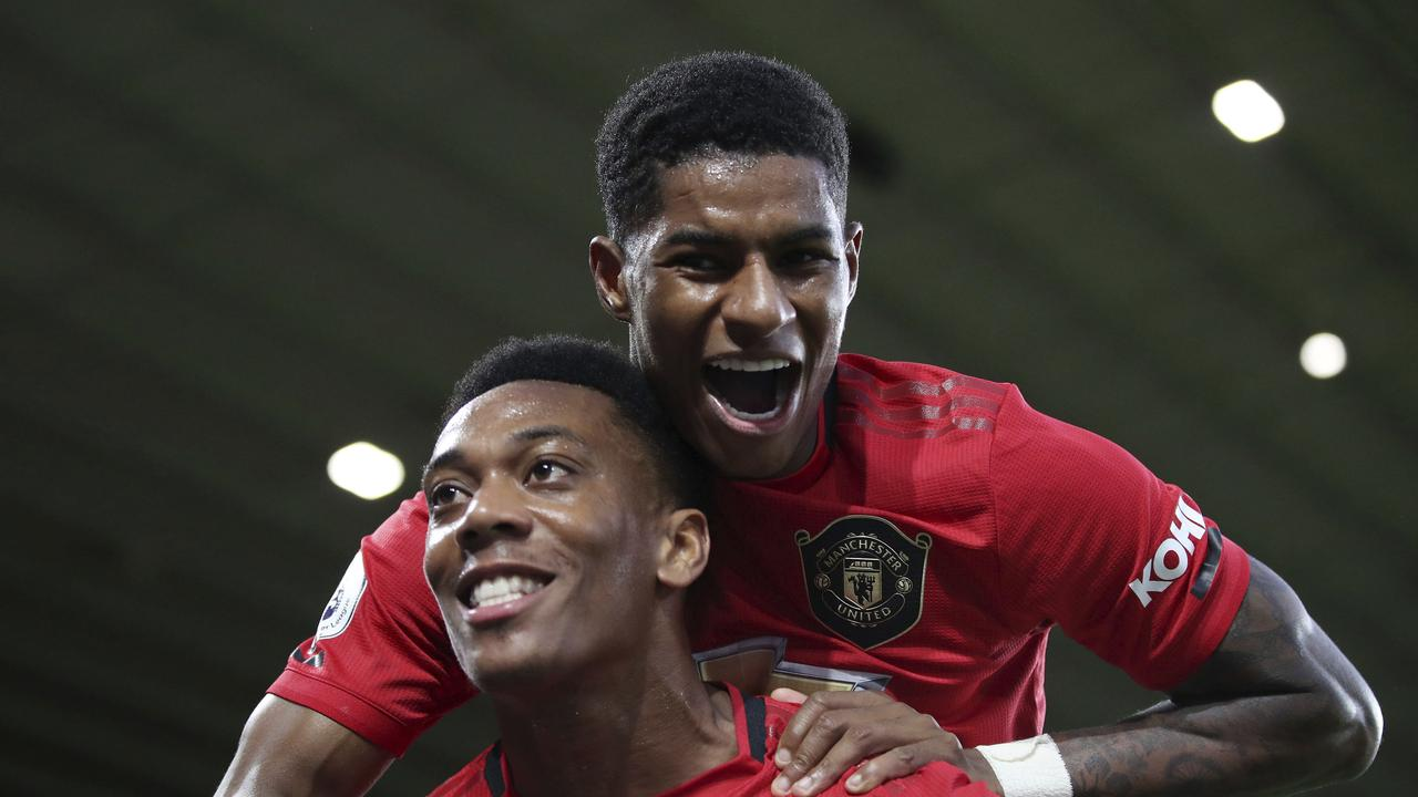 Marcus Rashford and Anthony Martial have looked very dangerous so far this season.