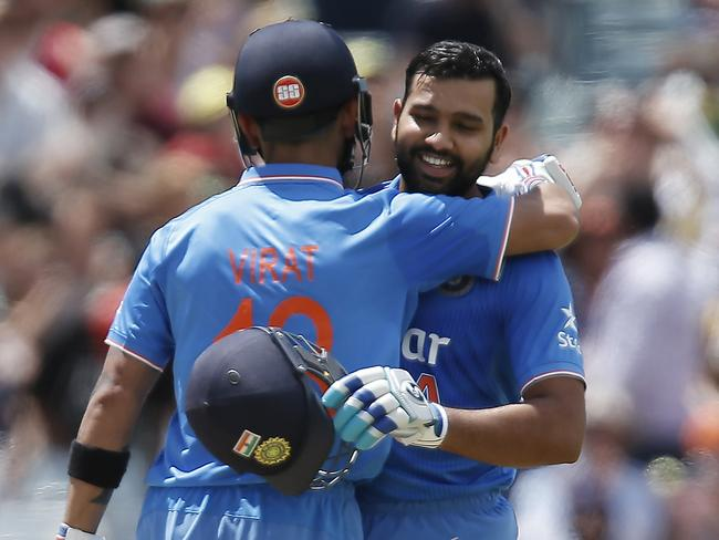 Sharma and Kohli toyed with the Aussie bowlers.