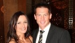 NEWS: NEWS: Richmond Best and Fairest at Crown Casino. Ben Cousins with Maylea Tinecheff.