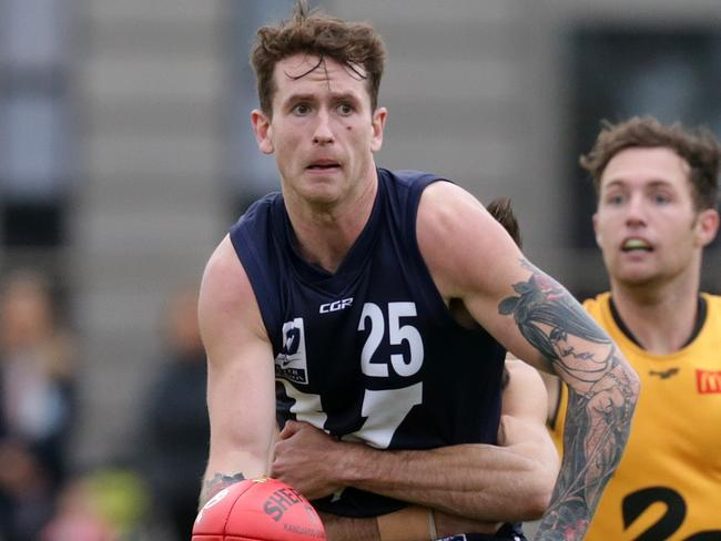 Cam O'Shea represented Victoria in the VFL v WAFL game. Picture: Sarah Matray
