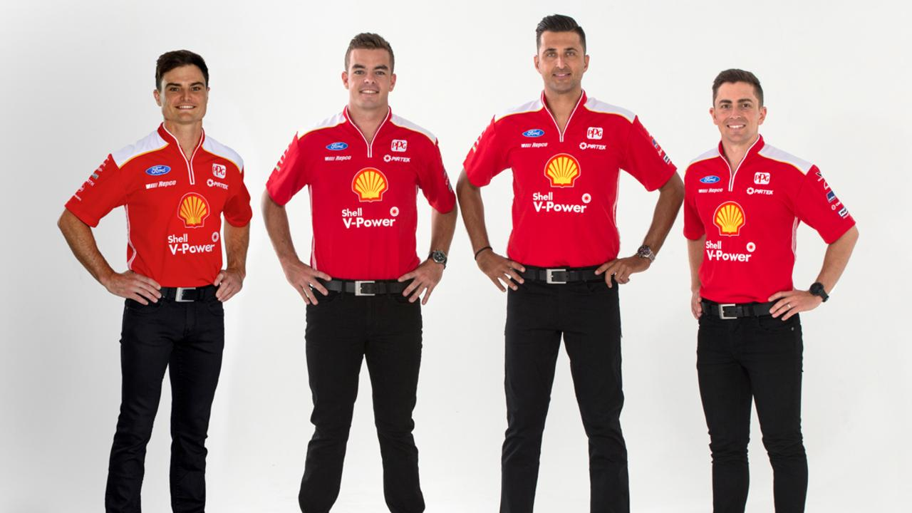 The 2020 Shell V-Power Racing line-up.
