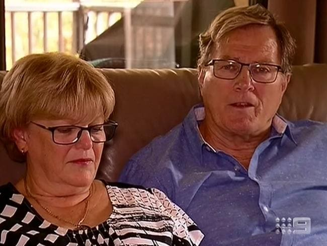 Gregg Simms said the family was staying hopeful. Picture: 9 News