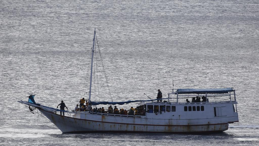 Mystery of two asylum seeker boats said to be in for Flying fish cove christmas island