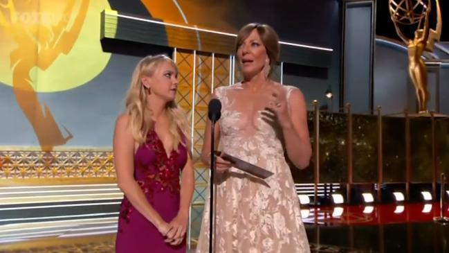 Anna Faris and Allison Janney's Emmys skit