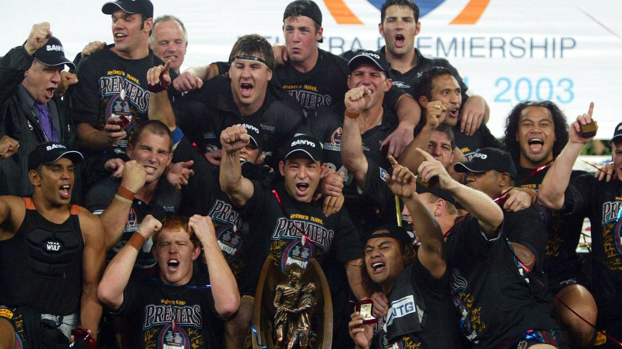 A fireman a brain researcher and a concreter: What happened to Penrith's class of '03 – Fox Sports