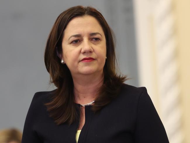 Queensland Premier Annastacia Palaszczuk hasn't been immune to GetUp! scheming. Picture: Annette Dew