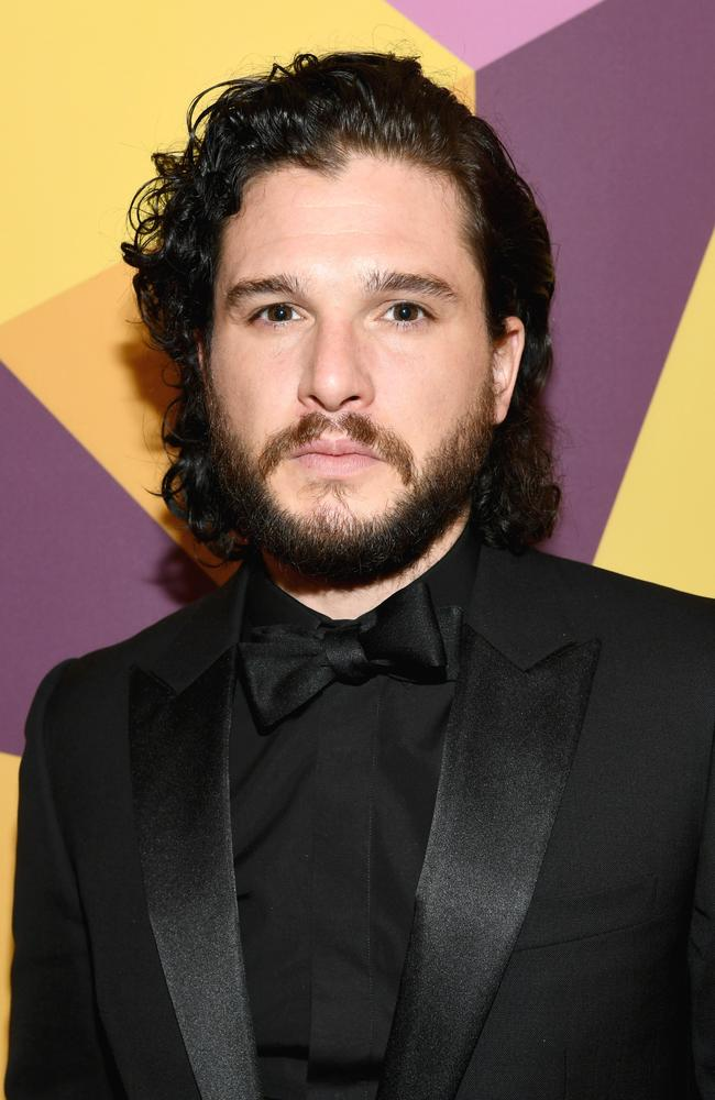 Kit Harington has vehemently denied the Russian model's claims. Picture: Getty