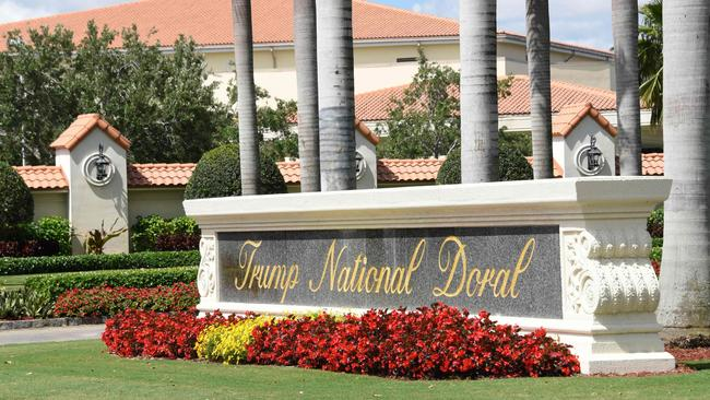 Trump National Doral will host the G7 next year. Picture: Michele Eve Sandberg/AFP