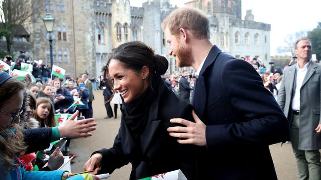 """Prince Harry and Meghan say they want to work to become """"financially independent"""". Picture: Chris Jackson/Getty Images"""