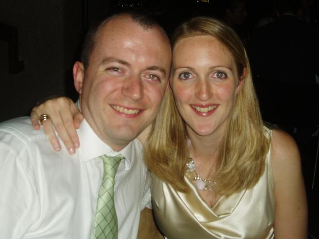 Katrina Dawson is pictured with her husband Paul Smith in an undated collect photo supplied by the family.