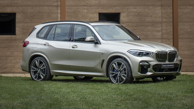 BMW has loaded the X5 with standard equipment.