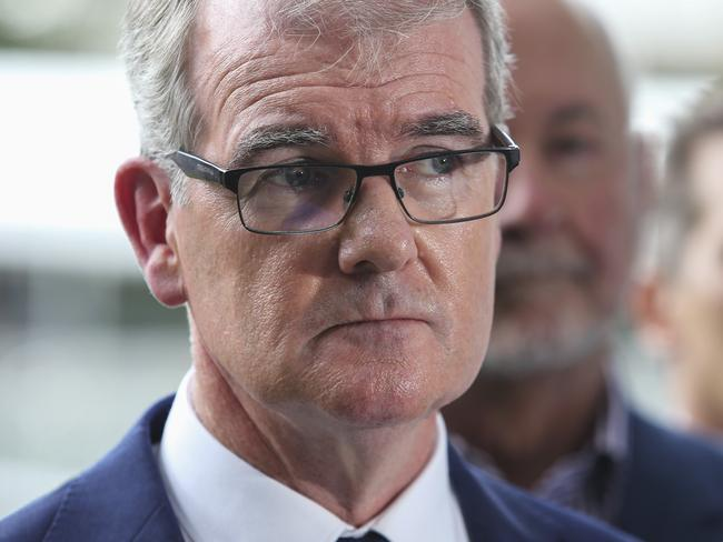 Labor leader Mr Daley has faced accusations of racism after a video showed him saying Asians were 'taking jobs' from young Australians. Picture: Justin Lloyd.