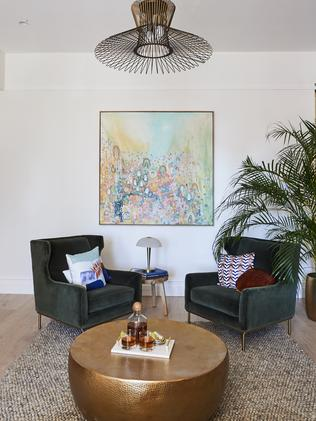 The judges loved the beachy feel of the room. Picture: The Block
