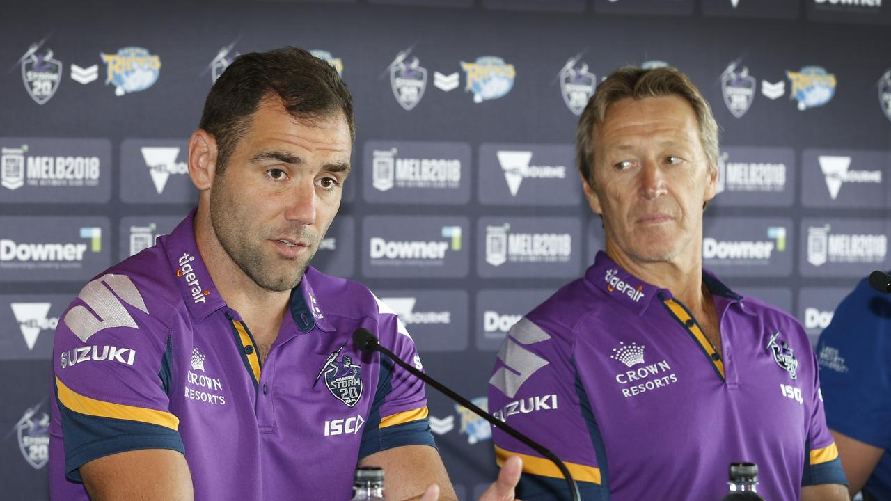 Smith and Bellamy ahead of the 2018 World Club Challenge