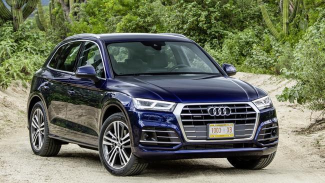 Driver assistance tech: Audi's Q5.