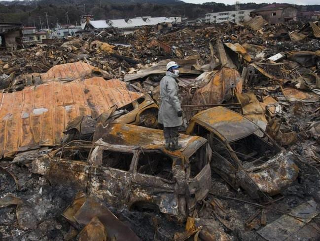 Experts say the earthquake and tsunami in Japan led to an increase in suicides. Picture: Paula Bronstein/Getty Images