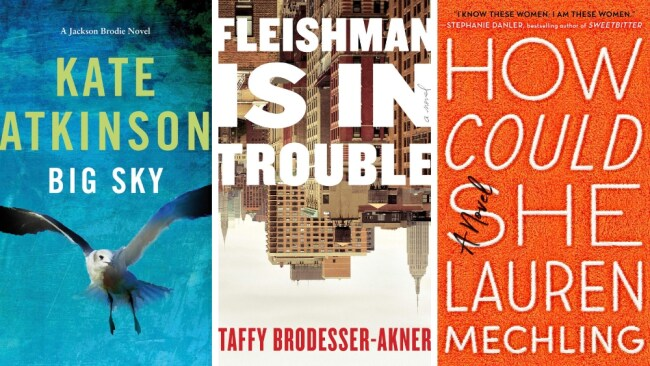 Image: 'Big Sky', 'Fleishman Is In Trouble' and 'How Could She'