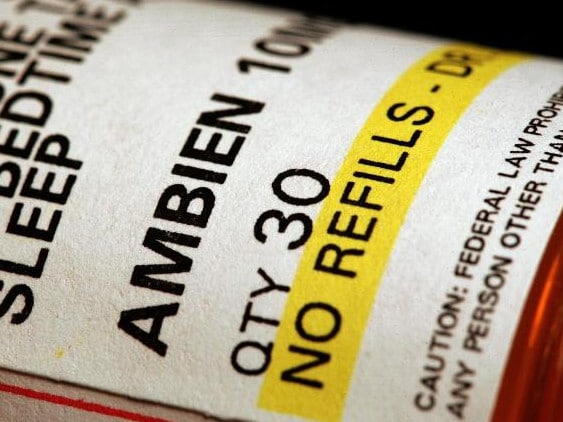 The man claimed to have taken four times the recommended dose of Ambien. Picture: Tim Boyle/Getty