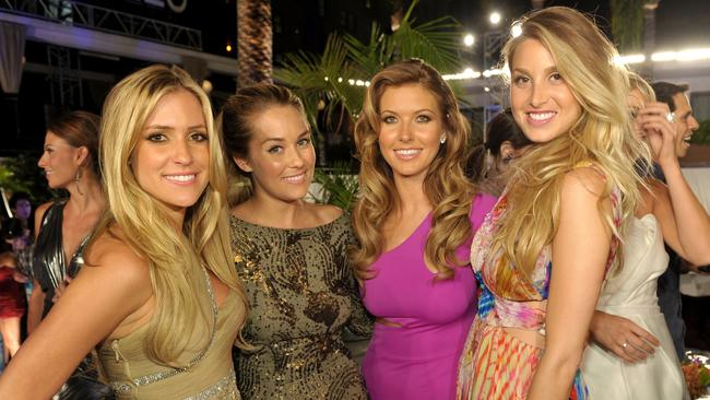Kristin Cavallari, Lauren Conrad, Audrina Patridge and Whitney Port at a party for The Hills in 2010. Picture: John Shearer/Getty Images for MTV.com
