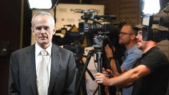 ACCC Chair Rod Sims wants pricing on basic NBN plans anchored. Picture: Peter Rae