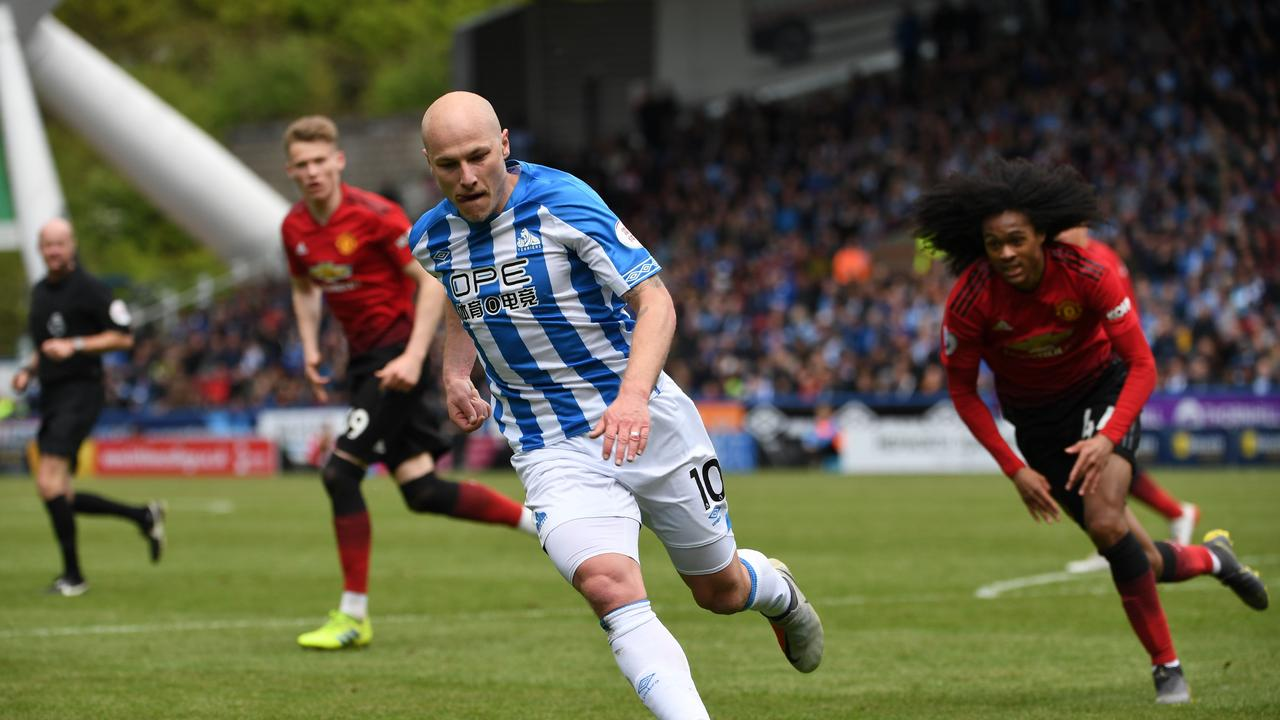 Aaron Mooy played a full game against United