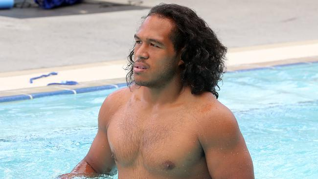 Agnatius Paasi could be able to join the Warriors. Picture: Richard Gosling