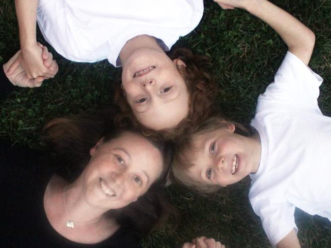 Connie with her beloved boys Willoughby and Hamilton. Picture: Love Your Sister/Facebook
