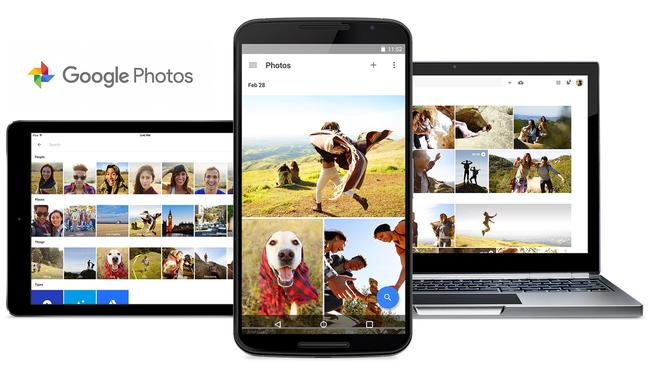 Free backup ... Google launched its Google Photos service at its 2015 annual developer conference.