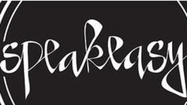 And the Speakeasy nightclub logo.