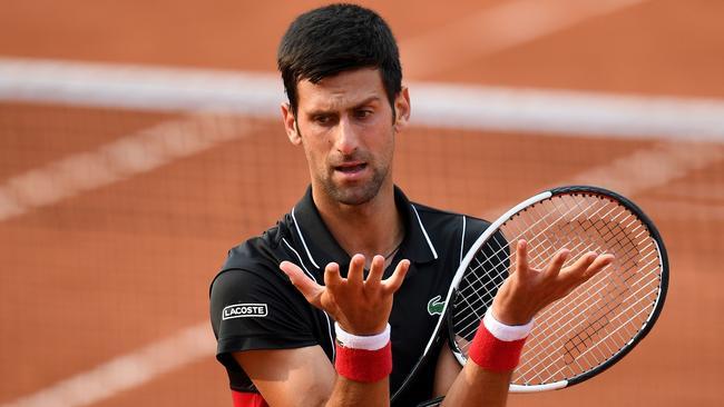 French Open Novak Djokovic Def By Marco Cecchinato Result Score Press Conference Fox Sports