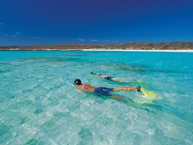 Turquoise Bay alongside Ningaloo Reef in northwest WA. Picture: Tourism Western Australia